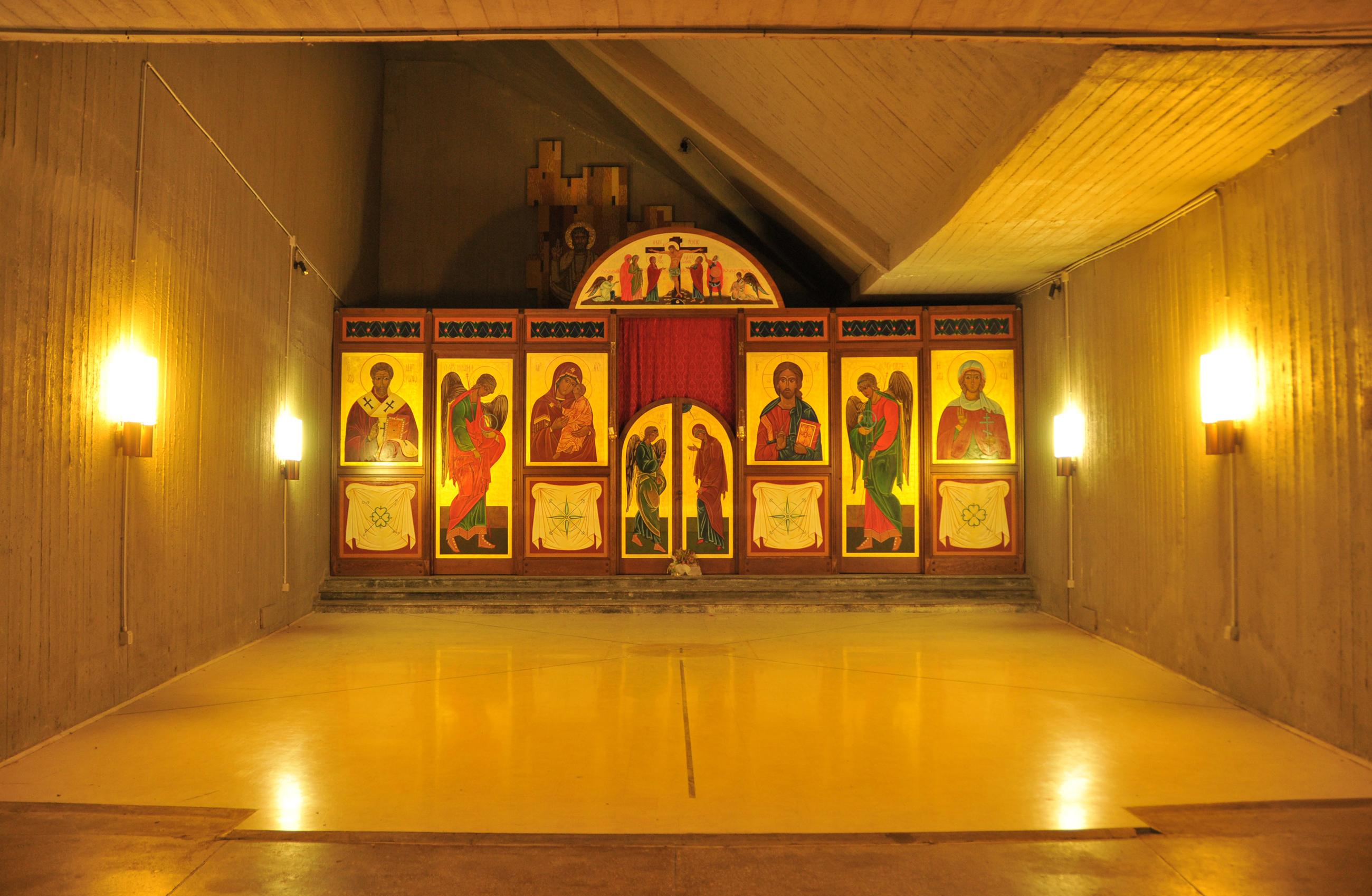 Cappella della Cripta del Santuario di Siracusa