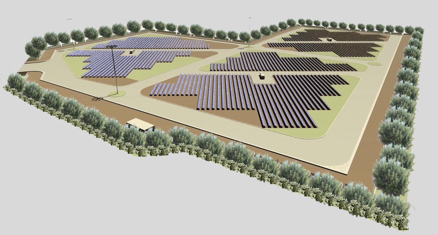 Parco fotovoltaico Ribera