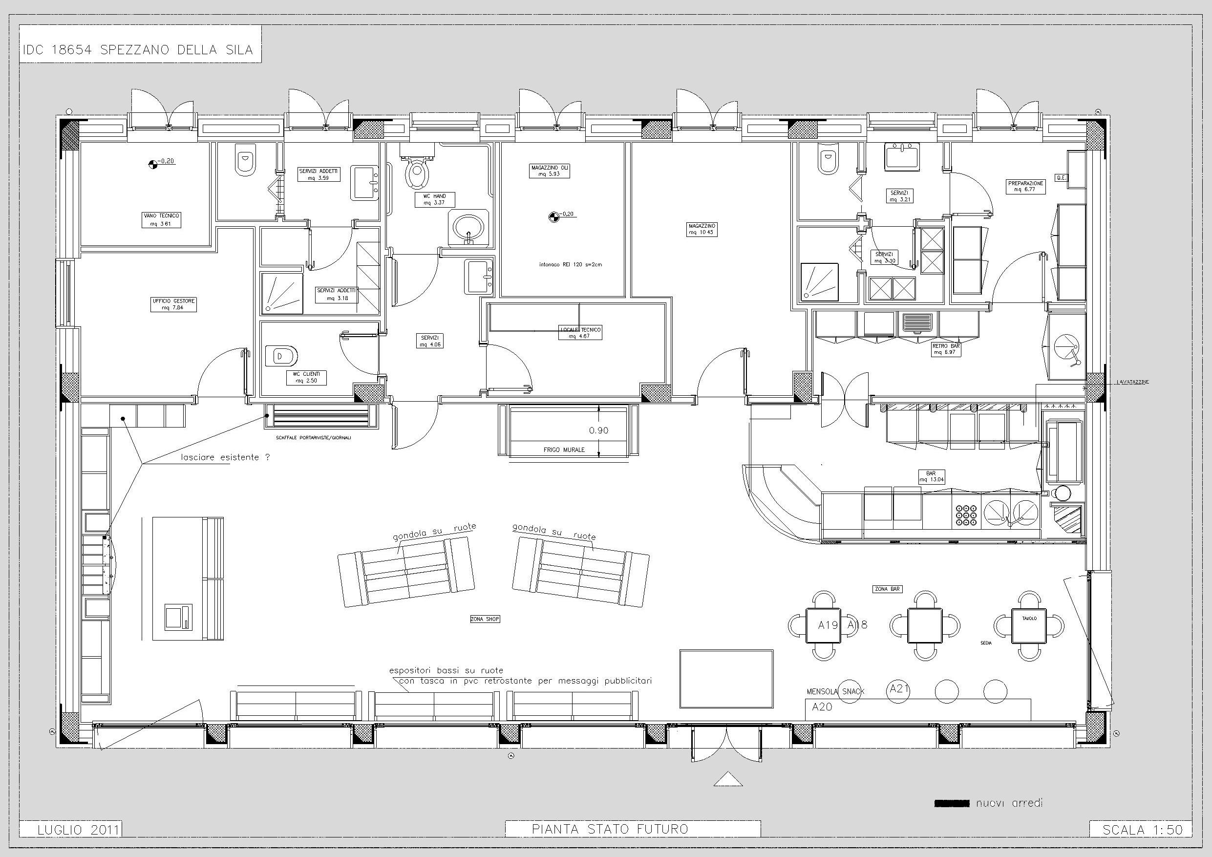 ENI – Progetto Corner Shop – Spezzano