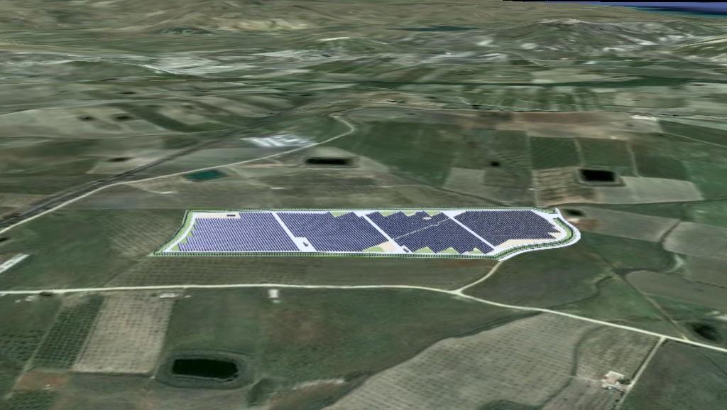 Parco fotovoltaico Campobello di Licata